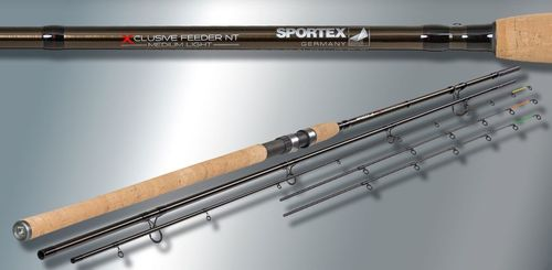 "Sportex Xclusive Medium Light Feeder ML3615 12"" L 360cm  WG 60-120g"